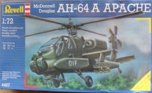 REVELL 1/72 4487 McDONNELL DOUGLAS AH-64A APACHE