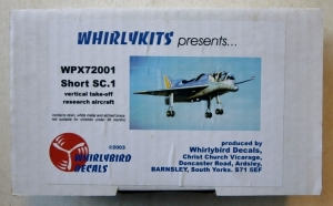 WHIRLYBIRD 1/72 72001 SHORT SC.1
