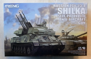 MENG 1/35 TS-023 RUSSIAN ZSU-23-4 SHILKA SELF-PROPELLED ANTI-AIRCRAFT GUN