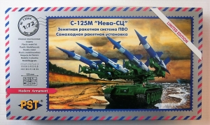 PST 1/72 72066 S-125M NEW-SC AIR DEFENCE MISSILE SYSTEM MOBILE LAUNCHER