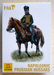 HAT INDUSTRIES 1/72 8197 NAPOLEONIC PRUSSIAN HUSSARS