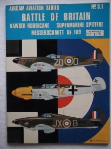 AIRCAMS  S1. BATTLE OF BRITAIN - HURRICANE SPITFIRE Bf 109