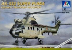 ITALERI 1/72 002 AS-332 SUPER PUMA