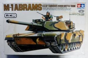 TAMIYA 1/35 35124 M-1 ABRAMS MBT