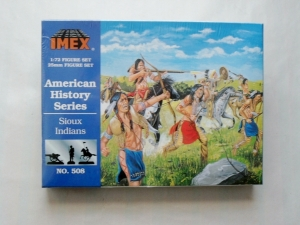 IMEX 1/72 508 SIOUX INDIANS