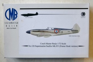 CZECH MASTER RESIN 1/72 120 SUPERMARINE SEAFIRE Mk.XV FRAME HOOK TYPE A