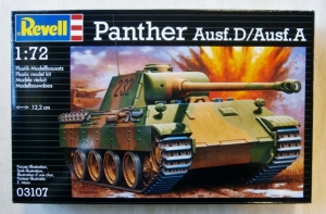 REVELL 1/72 03107 PANTHER Ausf.D/Ausf.A