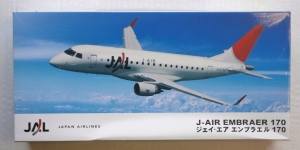 HASEGAWA 1/144 11101 J-AIR EMBRAER 170 JAL