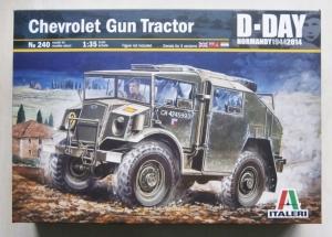 ITALERI 1/35 240 CHEVROLET GUN TRACTOR