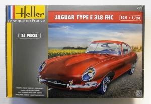 HELLER 1/24 80709 JAGUAR TYPE E 3L8 FHC