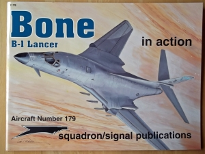 SQUADRON/SIGNAL AIRCRAFT IN ACTION  1179. B-1 LANCER BONE
