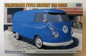 HASEGAWA 1/24 HC-9 VOLKSWAGEN TYPE 2 DELIVERY VAN  1967