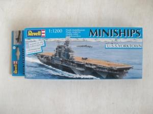 REVELL 1/1200 06807 USS YORKTOWN