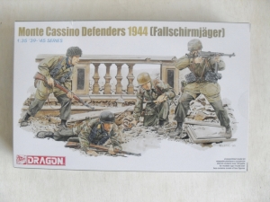 DRAGON 1/35 6514 MONTE CASSINO DEFENDERS 1944 FALLSCHIRMJAGER