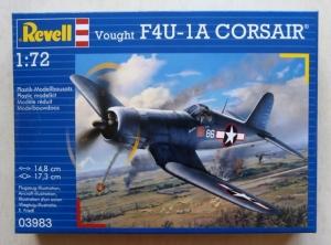 REVELL 1/72 03983 VOUGHT F4U-1A CORSAIR