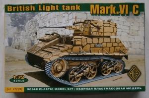 ACE 1/72 72292 BRITISH LIGHT TANK Mk.VI C