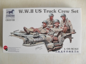 BRONCO 1/35 35159 WWII US TRUCK CREW SET