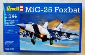 REVELL 1/144 03969 MiG-25 FOXBAT