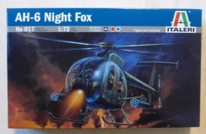 ITALERI 1/72 017 AH-6A NIGHT FOX