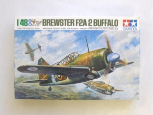 TAMIYA 1/48 61019 BREWSTER F2A-2 BUFFALO  RAF/DUTCH