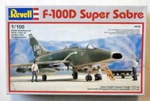 REVELL 1/100 4058 F-100D SUPER SABRE