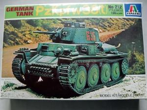 ITALERI 1/35 212 Pz.Kpfw 38 t