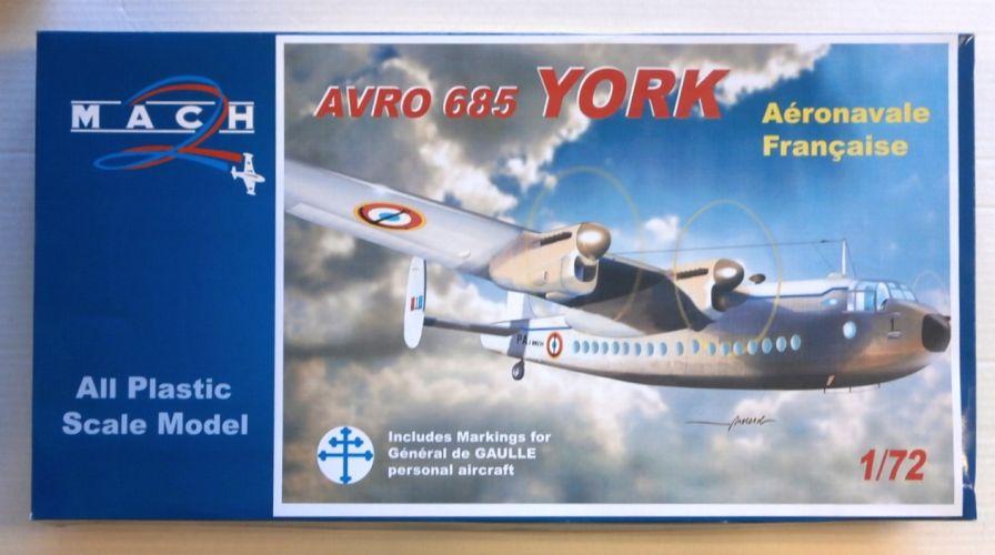 MACH 1/72 083 AVRO 685 YORK