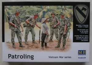 MASTERBOX 1/35 3599 PATROLLING VIETNAM WAR SERIES