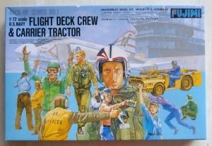 FUJIMI 1/72 35001 US NAVY FLIGHT DECK CREW   CARRIER TRACTOR