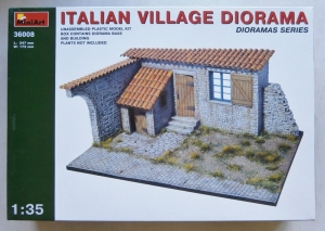MINIART 1/35 36008 ITALIAN VILLAGE DIORAMA