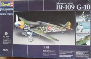 REVELL 1/48 4522 MESSERSCHMITT Bf 109 G-10 PREMIUM