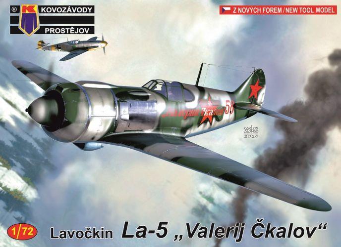 KP 1/72 0172 LAVOCHKIN LA-5 VALERY CKALOV