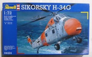 REVELL 1/72 04424 SIKORSKY H-34G