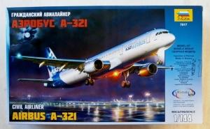 ZVEZDA 1/144 7017 AIRBUS A-321
