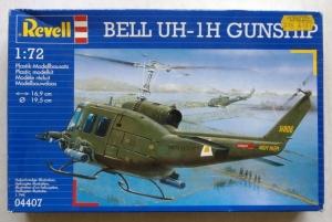REVELL 1/72 04407 BELL UH-1H GUNSHIP
