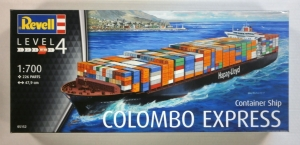 REVELL 1/700 05152 COLOMBO EXPRESS CONTAINER SHIP