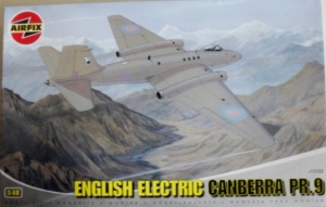 AIRFIX 1/48 10103 ENGLISH ELECTRIC CANBERRA PR.9
