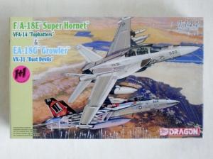 DRAGON 1/144 4615 F/A-18E SUPER HORNET VFA-14 TOPHATTERS   EA-18G GROWLER