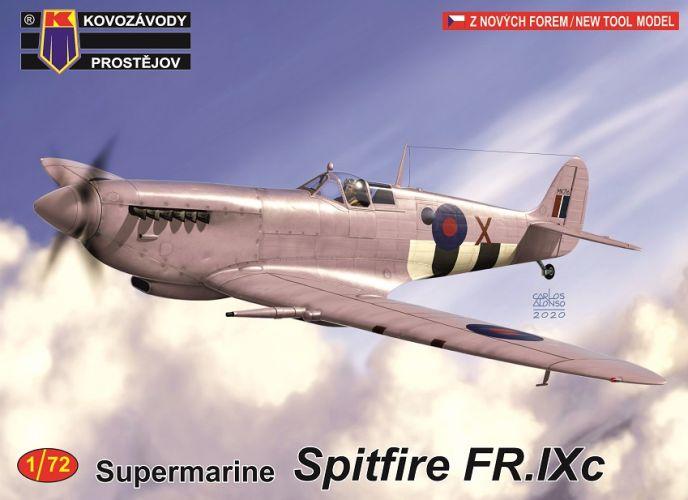 KP 1/72 0176 SUPERMARINE SPITFIRE FR.IXC