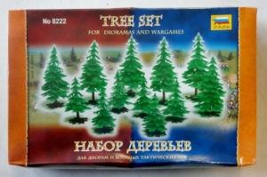 ZVEZDA  8222 TREE SET