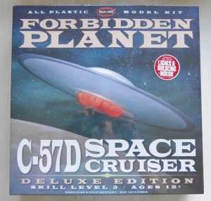 POLAR LIGHTS  916 FORBIDDEN PLANET C57D SPACE CRUISER