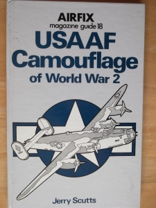 AIRFIX GUIDES  18. USAAF CAMOUFLAGE OF WWII