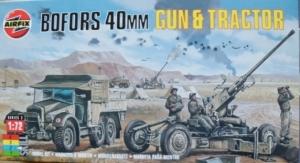 AIRFIX 1/76 02314 BOFORS 40mm GUN   TRACTOR