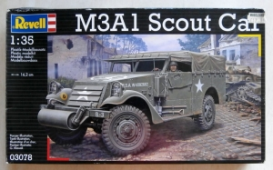 REVELL 1/35 03078 M3A1 SCOUT CAR