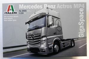 ITALERI 1/24 3905 MERCEDES BENZ ACTROS MP4 GIGA SPACE