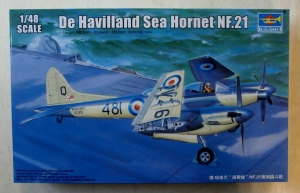 TRUMPETER 1/48 02895 DE HAVILLAND SEA HORNET NF.21