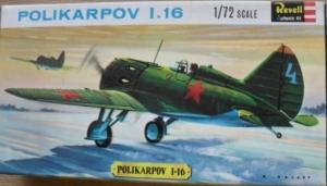 REVELL 1/72 H635SFB POLIKARPOV I-16