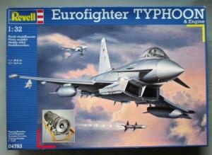 REVELL 1/32 04783 EUROFIGHTER TYPHOON   ENGINE