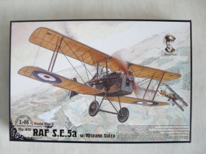 RODEN 1/48 419 RAF S.E.5a WITH HISPANO SUIZA