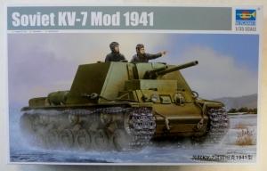 TRUMPETER 1/35 09503 SOVIET KV-7 Mod 1941